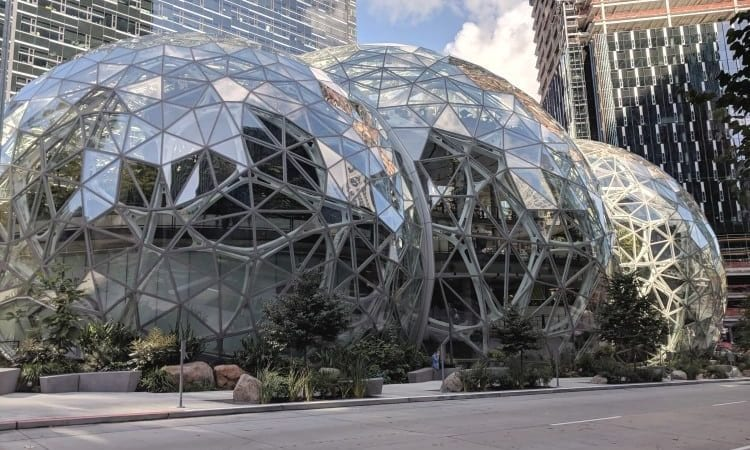 Visiting Amazon in Seattle