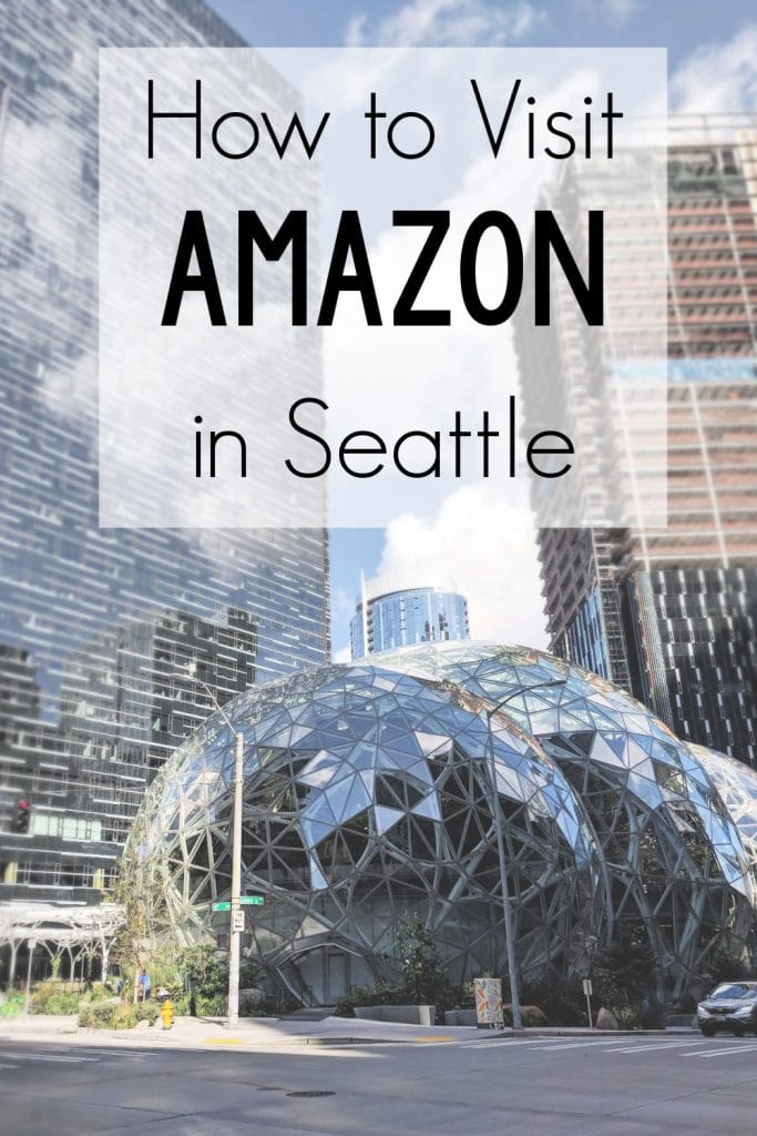 Visit Amazon in Seattle