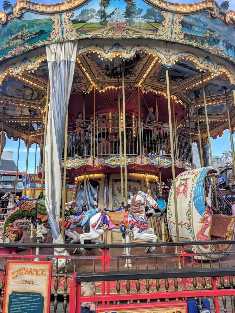 Carousel at Pier 39