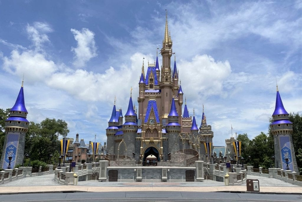 Cinderella's castle at Disney World Magic Kingdom