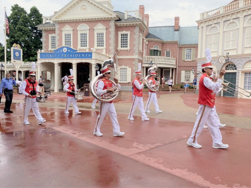 Disney World band