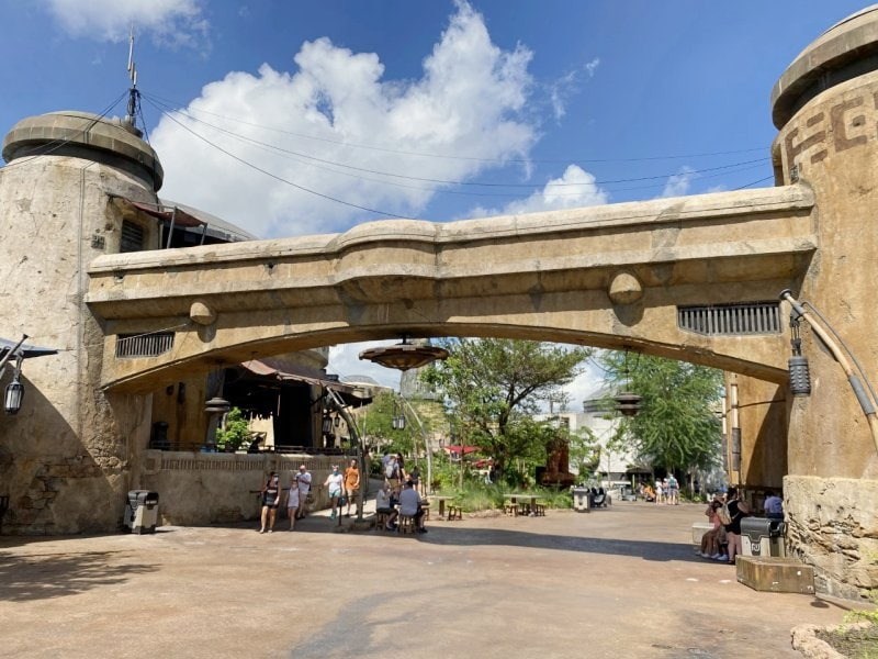 Galaxy's Edge at Hollywood Studios