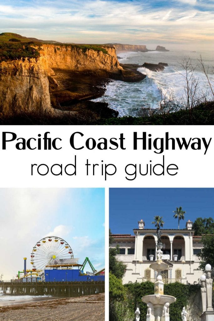 Pacific Coast Highway collage