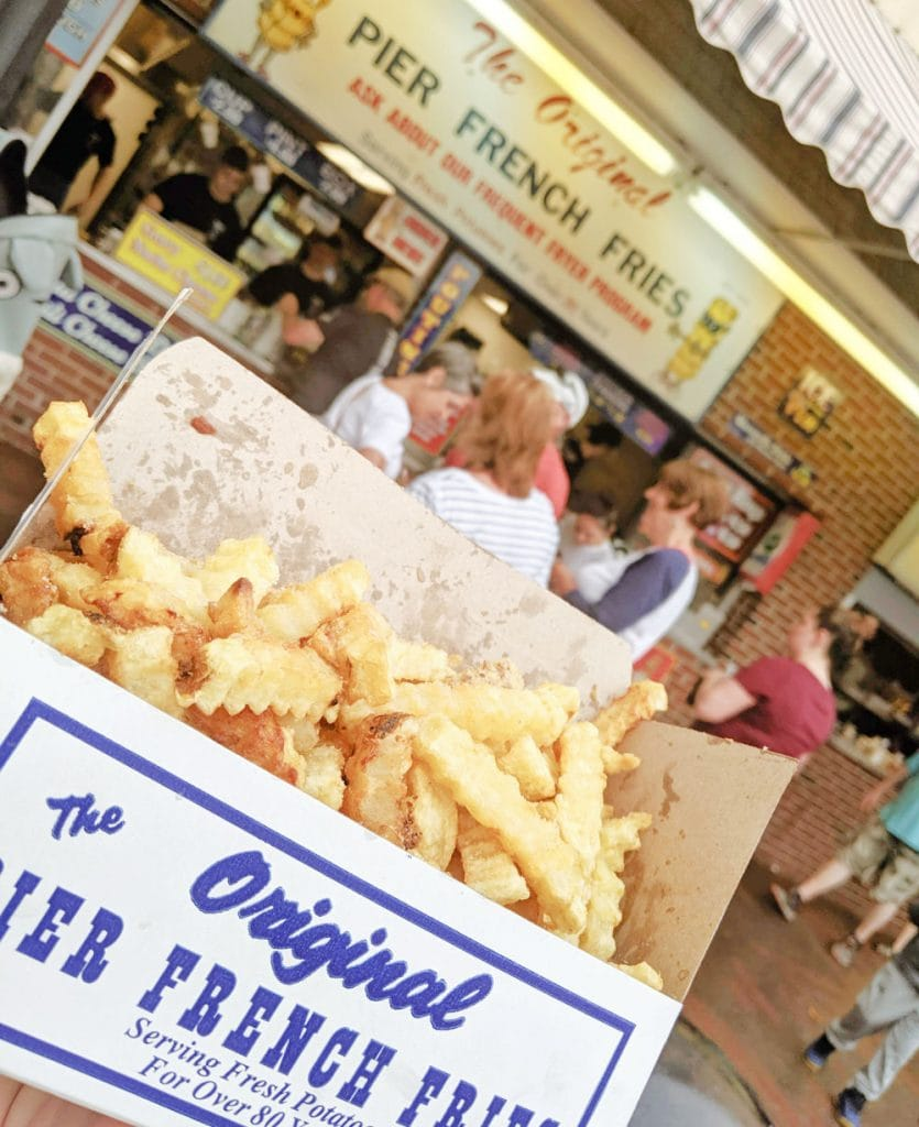 pier fries in old orchard beach