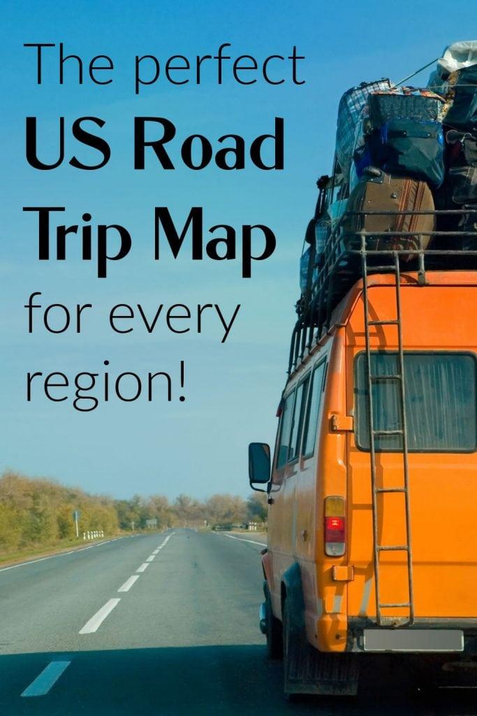 perfect road trip map