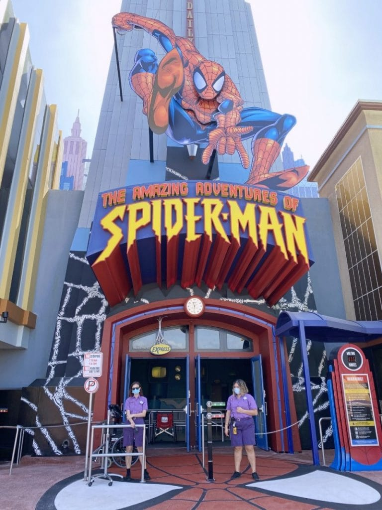 Adventures of Spiderman at Islands of Adventure