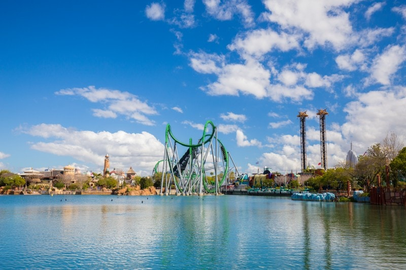 Islands of Adventure rides