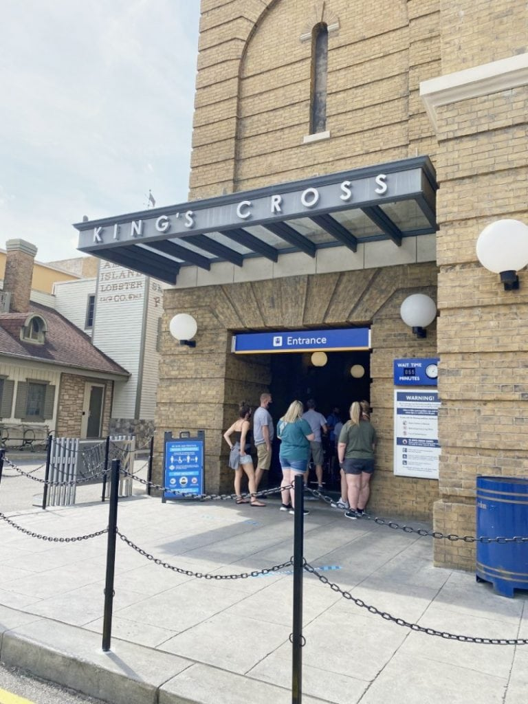 Kings Cross Station at Universal