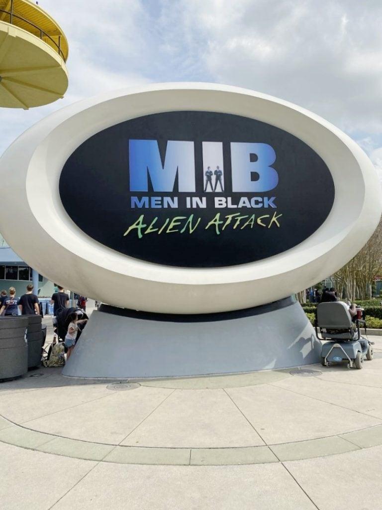 MIB ride at Universal