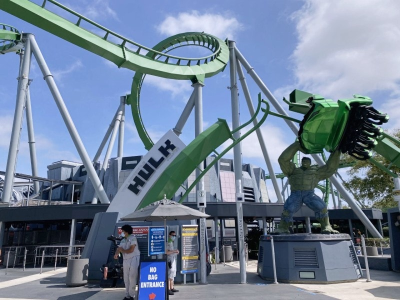 The Hulk Coaster
