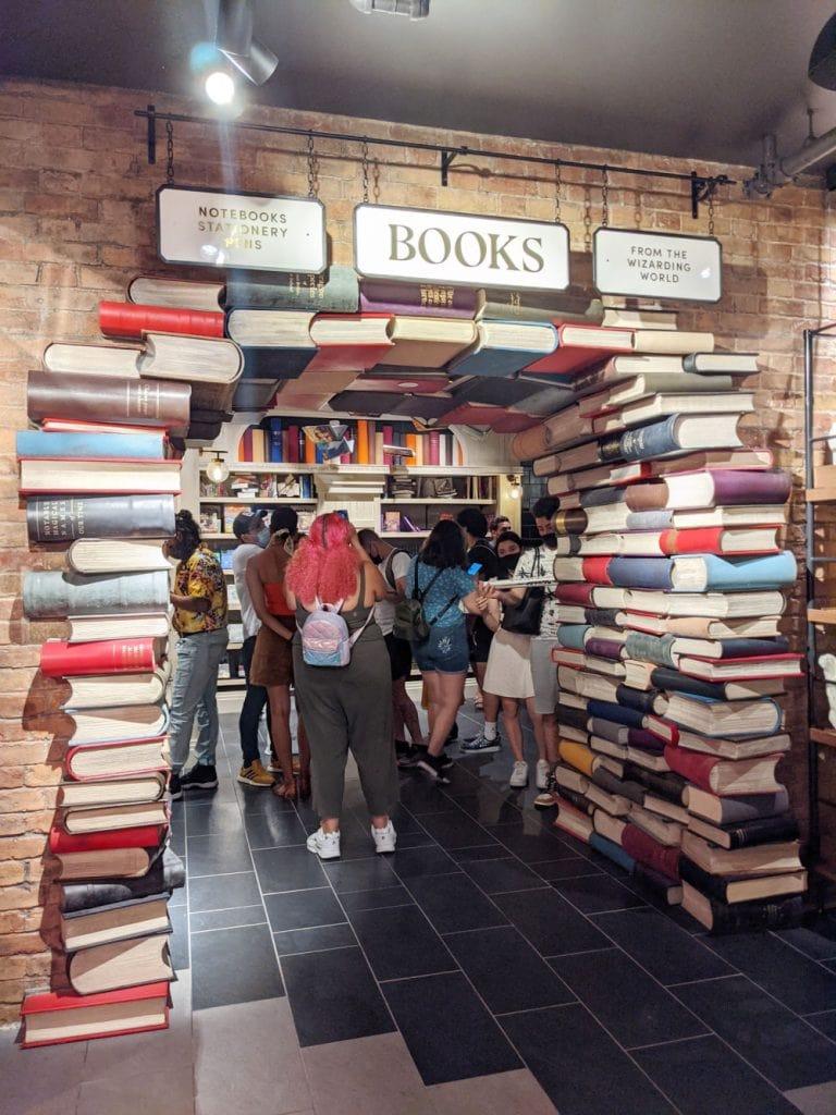 Books at Harry Potter New York